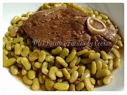 cuisiner les flageolets tranches de gigot d agneau flageolets recettes cookeo