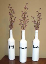 Diy Plastic Bottle Vase Little House On The Corner Dare To Diy Christmas Vases