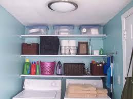 laundry room shelving ideas with rattan homescorner com