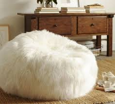 Fuzzy White Chair White Fur Bean Bag Chair Militariart Com