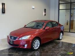 lexus matador red 2008 lexus is 250 awd in matador red mica 025458 jax sports