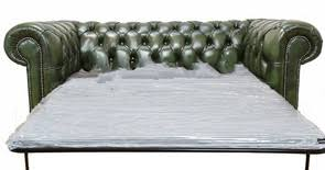 Chesterfield Leather Sofa Bed Chesterfield Sofabeds Exclusively At Designer Sofas 4u