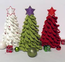 Amigurumi Christmas Ornaments - 001 christmas tree new year pattern amigurumi crochet pattern
