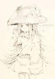 sketch com mushroom by rosuuri on deviantart