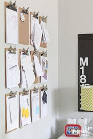 Office Wall Decorating Ideas by Top 25 Best Clipboard Wall Ideas On Pinterest Cheap Office