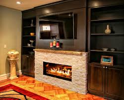 kozy heat for a contemporary spaces with a contemporary fireplace