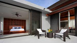 modern tropical house home floor homes small blueprints design