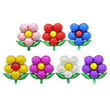 flowers and balloons free shipping flowers aluminum balloons birthday party balloons