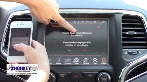 how to connect phone to jeep grand how to connect your smartphone to the jeep grand