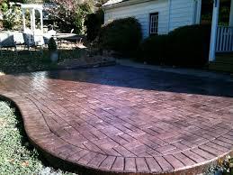 Brick Patterns For Patios Stamped Concrete Colors U0026 Patterns Decorative Concrete Of