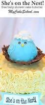 Tutorials By A Mama Bird Baby Shower My Cake