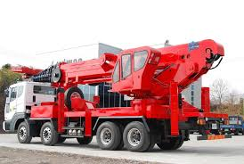 truck mounted articulated boom lift nandan gse