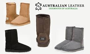 australian leather 3 4 uggs groupon goods