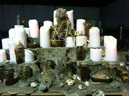 voodoo altar sl altered space pinterest voodoo altars and