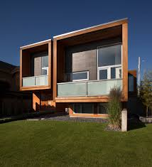 Home Design Exterior Walls Chilliwack Square House Facade Greeting In Wooden Face Exterior