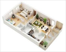 Floor Plan Of 2 Bedroom Flat Amazing Interior Design 10 Awesome Two Bedroom Apartment 3d Floor
