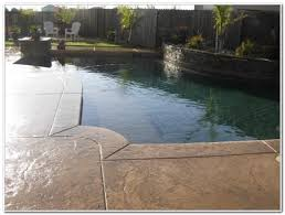 stamped concrete pool deck ideas decks home decorating ideas