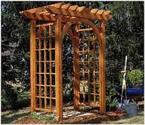 garden arbor plans woodworker com enjoy your yard more with these garden arbor plans