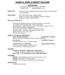 sle resume for part time college student objective ofe sle part time exles what goes in career how to