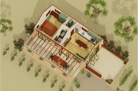 southwestern style house plans adobe southwestern style house plan 1 beds 1 baths 398 sq ft