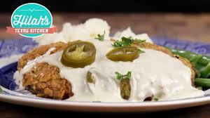 chicken fried steak hilah u0027s texas kitchen youtube