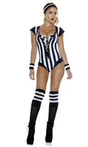 Flag Clothing Flag On The Play 5pc Referee Costume