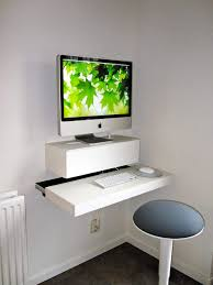 laptop desk for small spaces imac laptop desk price 70 materials needed 1 lack shelf 1 ekby
