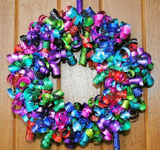 ribbon wreath diy ribbon wreaths craft a wreath for your door