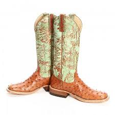 womens quill boots collection with bean brown quill ostrich boots