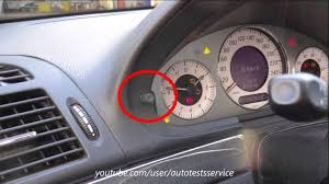 mercedes w211 how to fully disengage esp hidden menu youtube