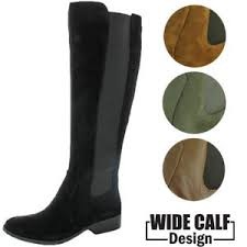 womens boots canada wide calf s ricel 2 wide calf knee high leather boots