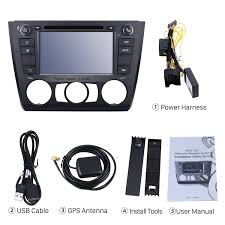 android 4 4 4 7 inch car dvd player for bmw 1 series 120i e87