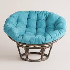 the pier papasan chair home decor with brown rattan chair frame