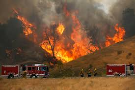 Wildfire Cali by The Latest Emergency Declared On 2 California Wildfires Wtop