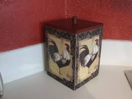 rooster canister rooster decor red kitchen decor farmhouse