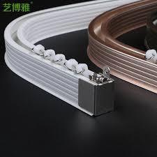 Curtain Track Curved Aluminum Curtain Rod Curved Track Curtain Rail Tracks Consumer L