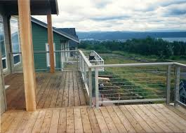 decks deck cable railing indoor stair railing kits cable railings
