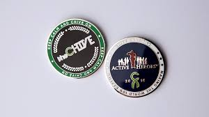 Thechive Challenge Chive Challenge Coin 2 Pack Challenge Coins