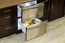 kitchen fridge cabinet under counter refrigeration kitchen granite cabinet top slide