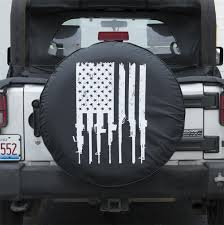 jeep beer tire cover rifle flag tire cover grunt style llc