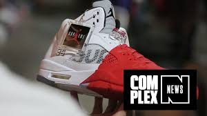 Red Paint by The Guy Who Dipped His Supreme X Jordan Vs In Red Paint Explains