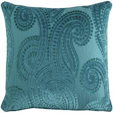 Pier One Paisley Curtains by Baroque Paisley Teal Pillow Pier 1 Imports