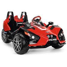polaris four wheeler peg perego polaris slingshot battery operated ride on walmart com