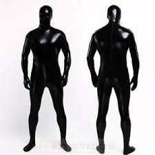 Body Halloween Costumes Halloween Costume Black Skin Color Zentai Leotard Lycra Spandex