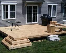 Cheap Backyard Deck Ideas Small Patio Decks Outdoor Grabbing Exterior With Small