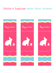 printable easter bookmarks to colour diddles and dumplings printable easter bunny bookmark