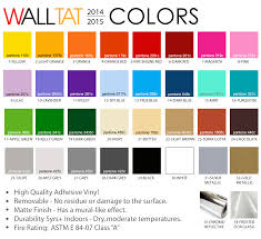 bedroom wall decals with wall tat color chart for modern interior