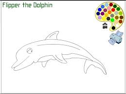 dolphin coloring pages kids dolphin coloring pages