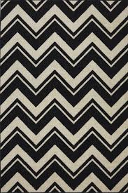 Black And White Stripped Rug Contemporary Black And White Area Rugs