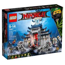 amazon com lego ninjago movie temple ultimate ultimate weapon